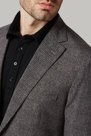 Grey printed b-tech nylon jacket, , hi-res