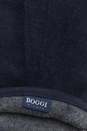 Handschuh aus wolljersey, Navy blau, hi-res