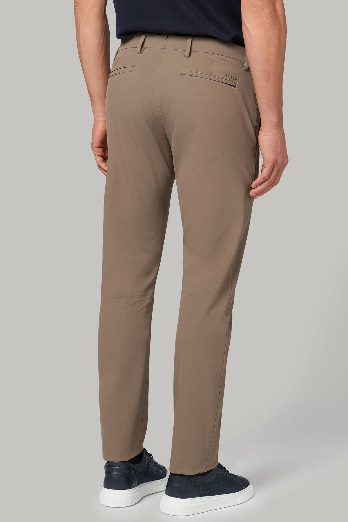 Hose aus nylonstretch regular fit, Taupe (Turteltaube), hi-res