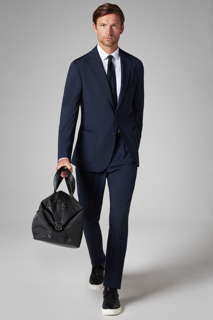 TECH TAILORING - BLAZERS - NAVY BLUE, , hi-res
