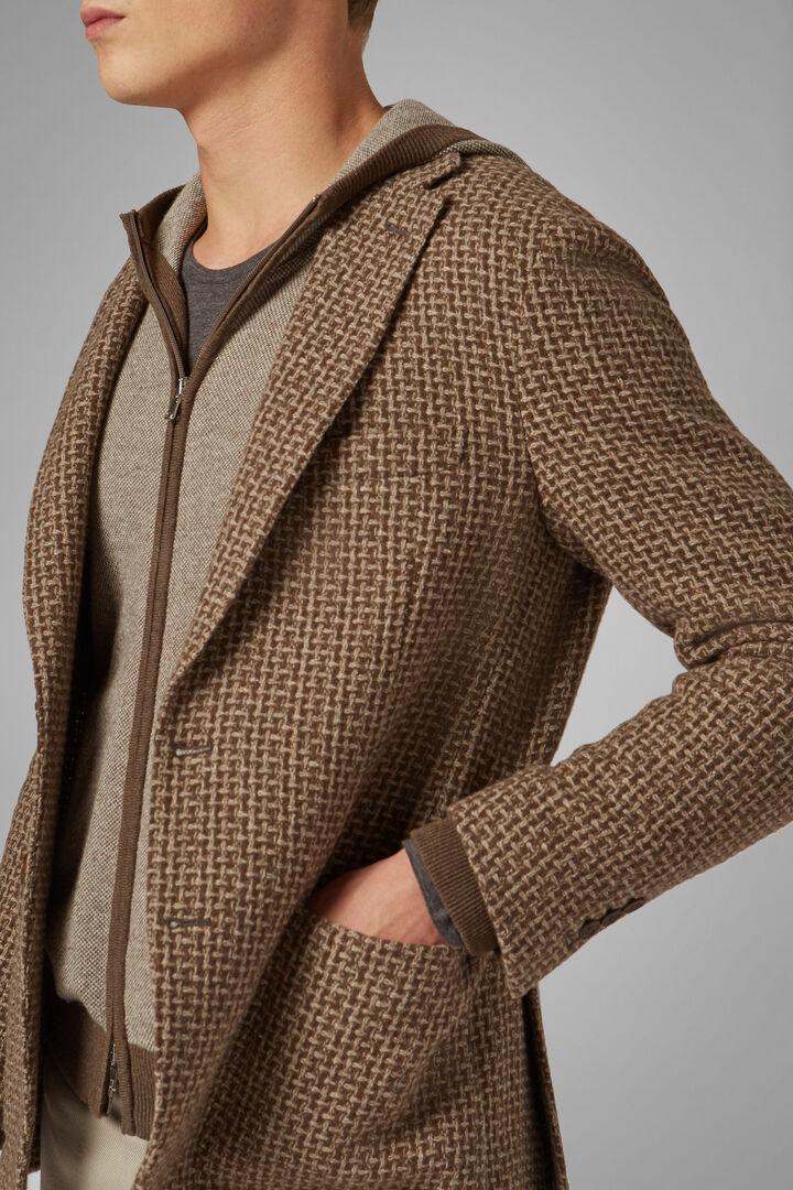 Hazelnut Wool Blend Aria Blazer, Hazelnut, hi-res