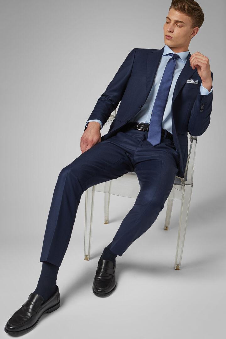 Cornflower Blue Paris Suit Jacket, Bluette, hi-res