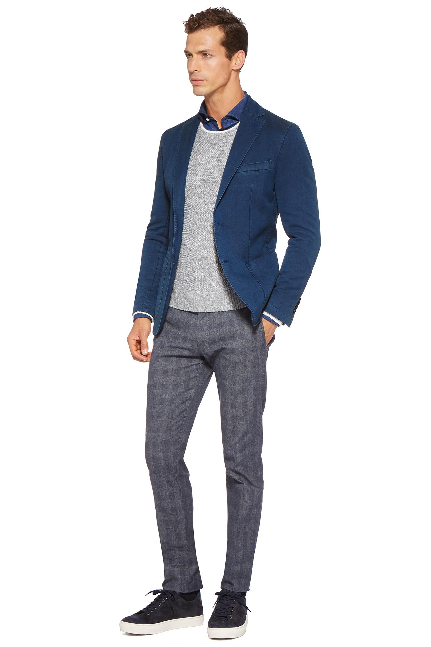 giacca blu toppe boggi