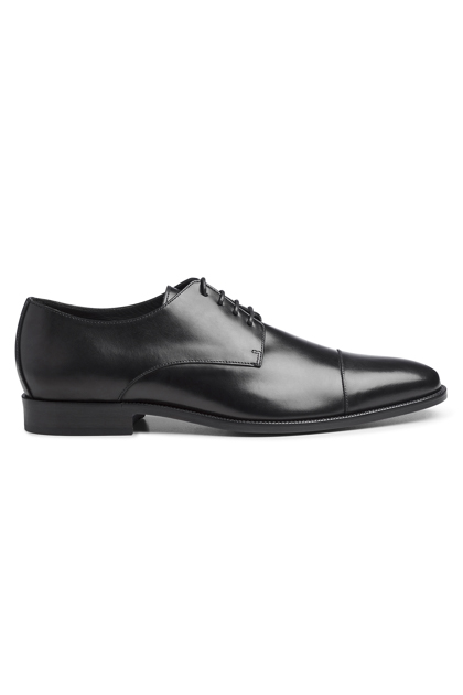 BLACK DERBY IN CALF, Black, medium