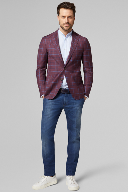 ARIA - BLAZERS - BURGUNDY, , medium