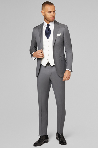 GRAND SOIRÉE , BLAZERS , GREY, , medium