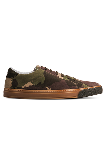 CAMOUFLAGE PRINTED TRAINERS, CAMOUFLAGE, medium