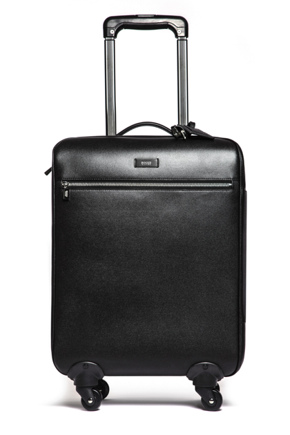 FOUR-WHEEL ROLLER CASE, Black, medium