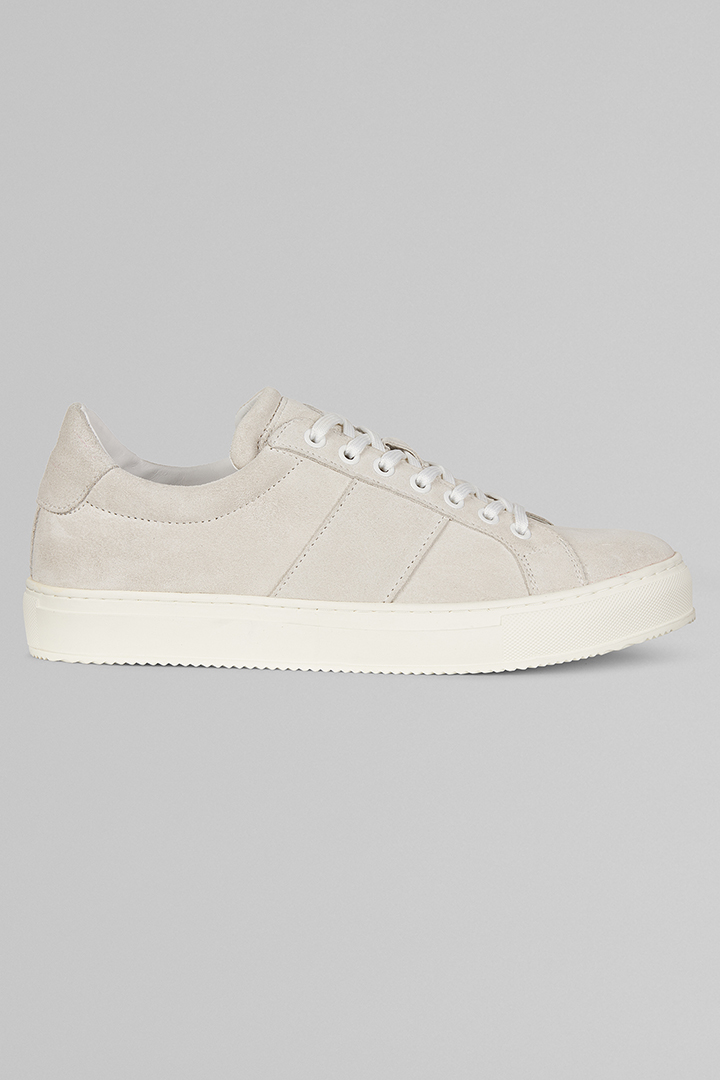 SUEDE TRAINERS, ICE COLOUR, large