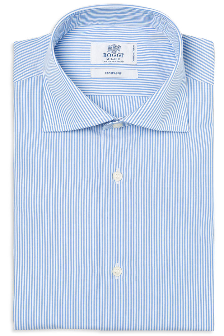 TWO PLY POPELINE COTTON SHIRT