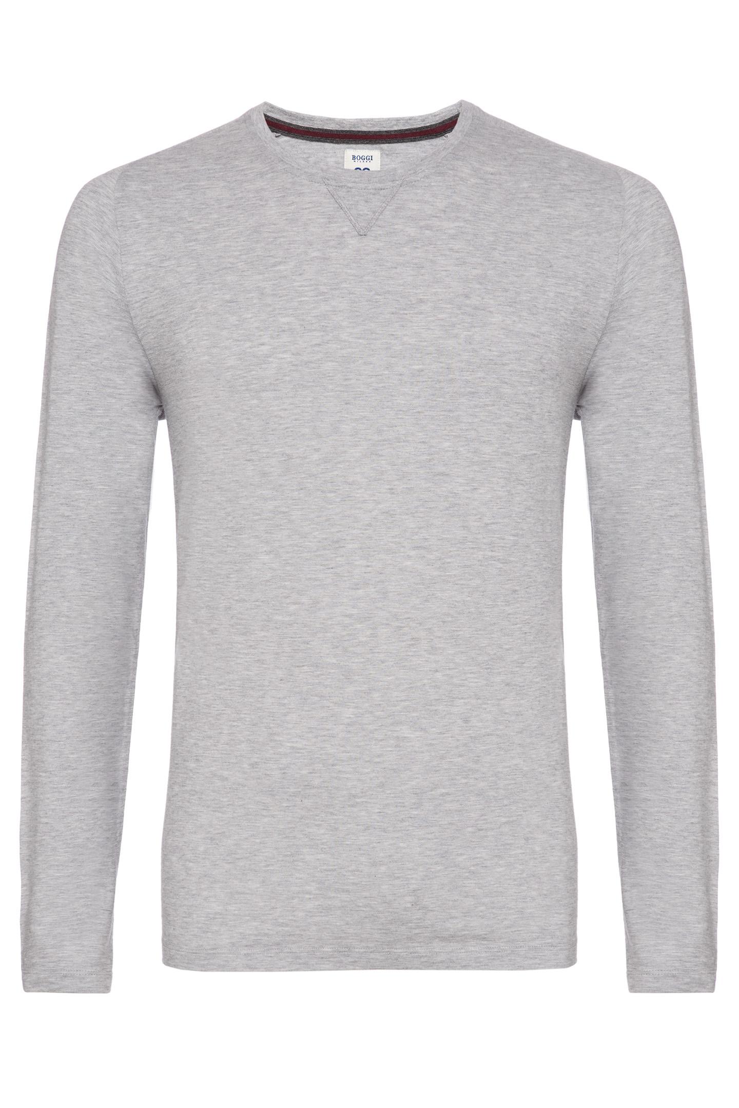 Shot Cotton Jersey T Shirt Custom Fit Boggi