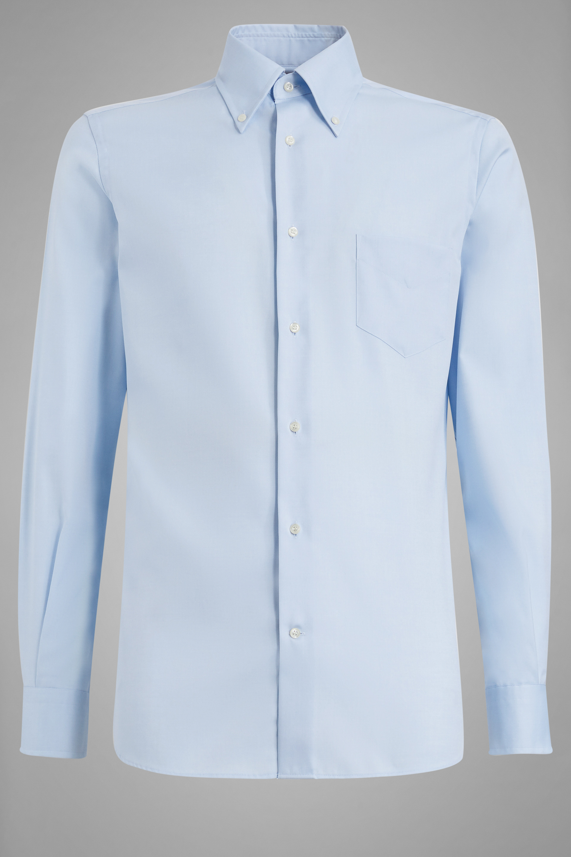 Two ply button down collar pin point cotton shirt light for 2 ply cotton shirts