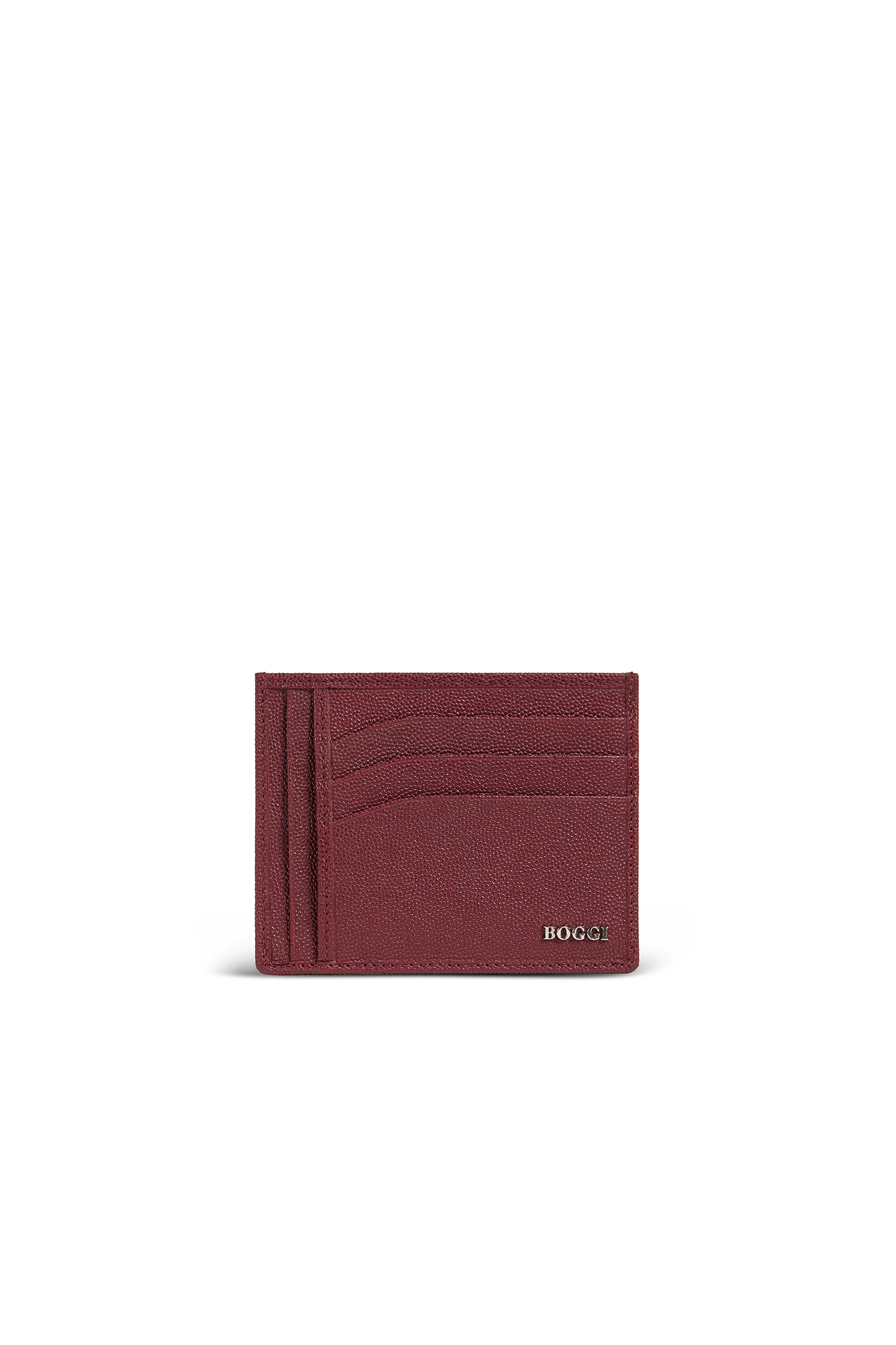 12b96bf4db02f1 LARGE CAVIAR LEATHER CARD HOLDER, Red, large
