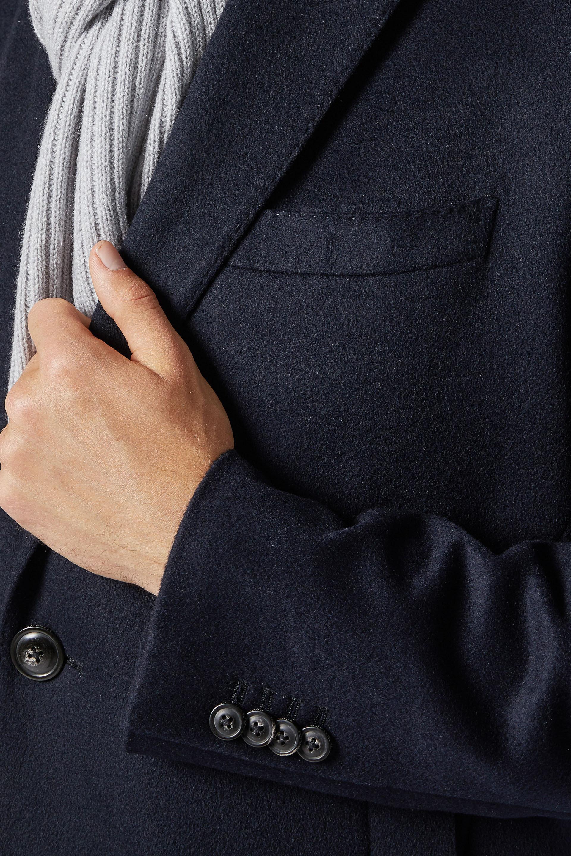 Manteau Droit En Cachemire | Boggi