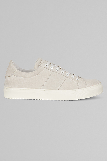 SNEAKERS IN PELLE SCAMOSCIATA, , medium