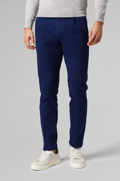 JEANS AUS STRETCH-BAUMWOLLE SLIM FIT, INDIGOBLAU, medium