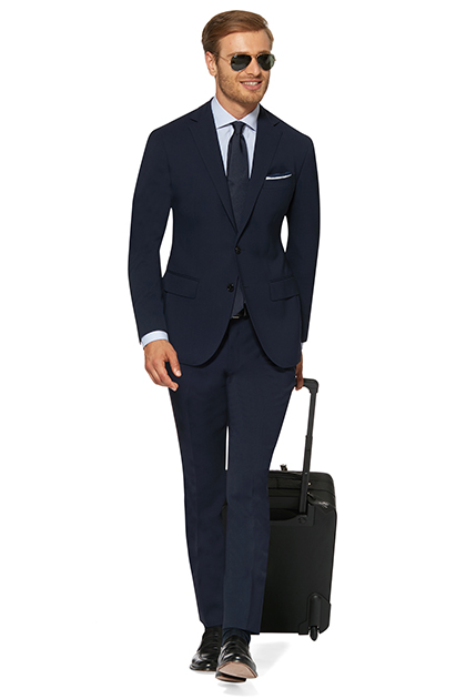 SUIT IN TRAVEL FABRIC, , medium