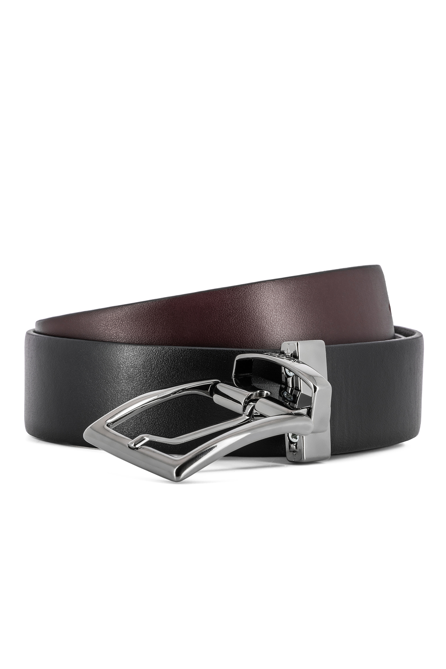 54f7a77f84ae REVERSIBLE SMOOTH LEATHER BELT - MADE IN ITALY