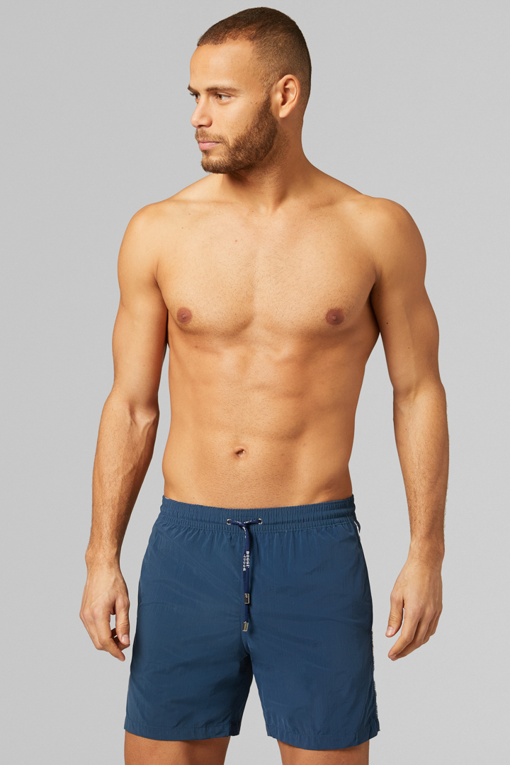 BADEHOSE NAVY, MARINEBLAU, large